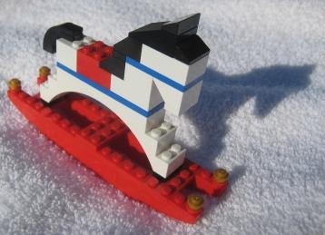 Rodney's Saga LEGO rocking horse