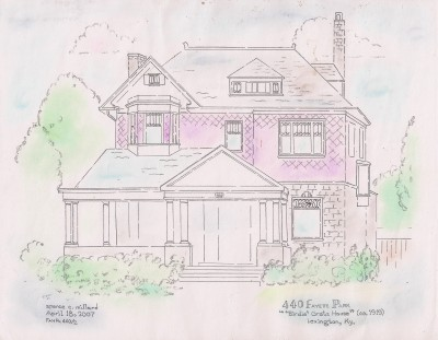 *My* Old Kentucky Home Illustration by Spence Millard