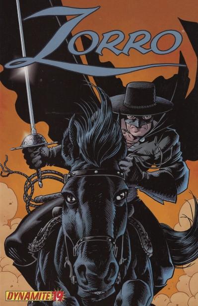 cov Zorro comic