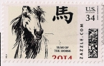 YOTH postcard stamp