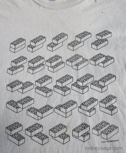 T shirt LEGO