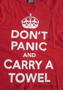 T shirt panic
