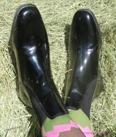 Tuff Rider Patent Leather