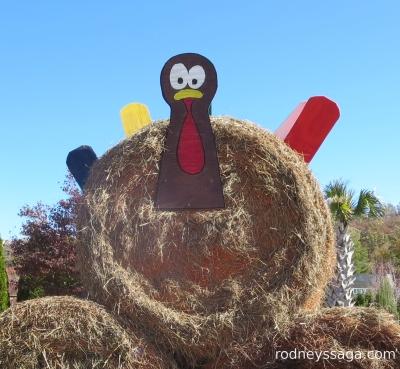 hay roll turkey