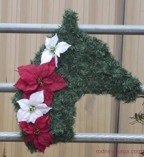 party horsehead wreath