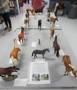Class 116.  Quarter Horses Breyer, Table 1