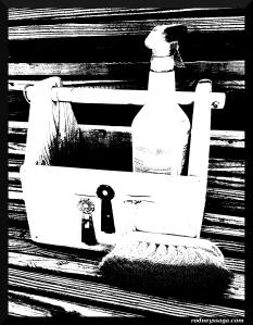 brush box b&w