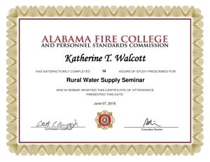 FFD WoW certificate 2015