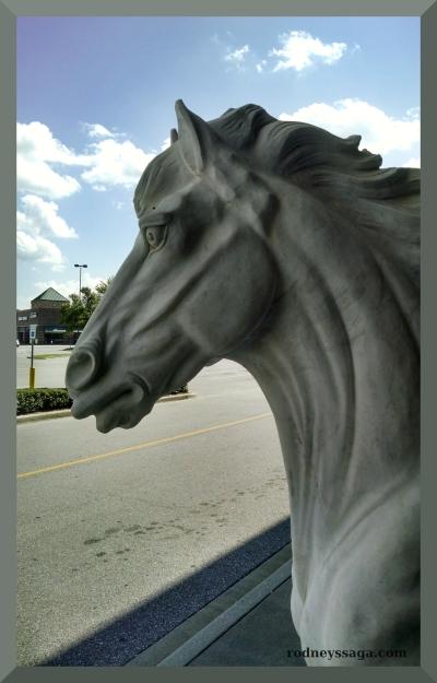 WoD statue head
