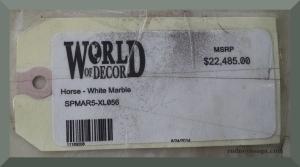 WoD statue label