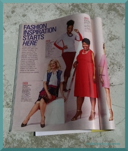 Redbook red dress