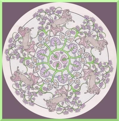 LB color page purple