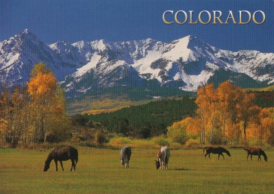 San Juan Mountains Colorado USA