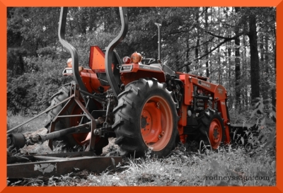 tractor selective color