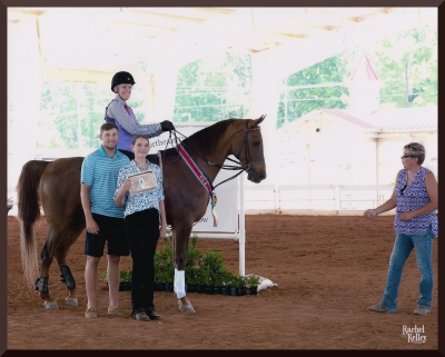 Me, Sam, Ribbon Minions & Coach Courtney at NE GA. Rachel Kelley Photography
